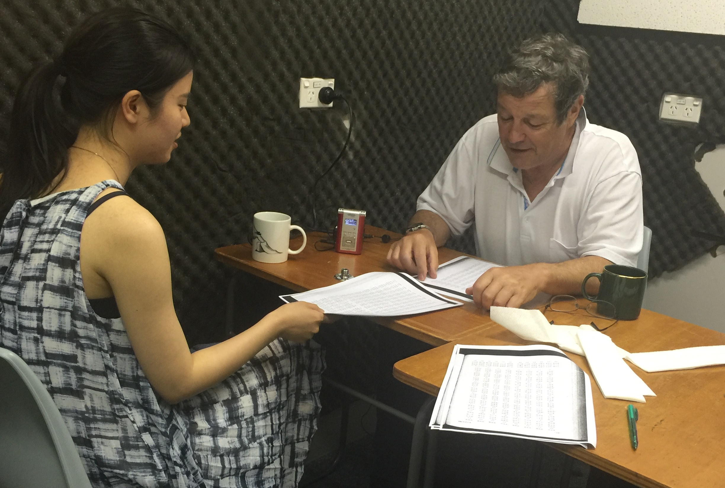 recording Wenzhou in 2017